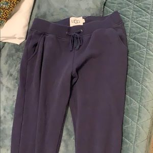 UGG sweatpants with zip detail. Size M